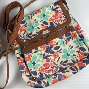 RELIC by FOSSIL Floral Crossbody Bag